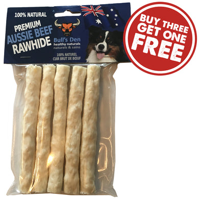 Organic & Natural Digestible Rawhide Crunchy Rolls