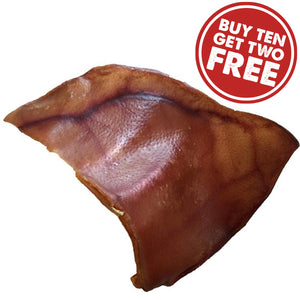 Organic & Natural Large Pig Ear