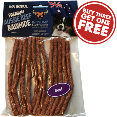 Organic & Natural Soft Rawhide Beef