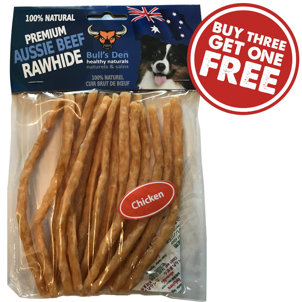 Organic & Natural Soft Rawhide Chicken
