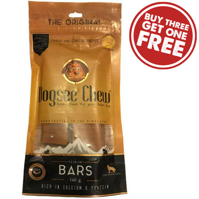 Organic & Natural Yak Cheese Chew Bars - Medium