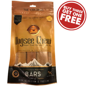 Organic & Natural Yak Cheese Chew Bars - Small