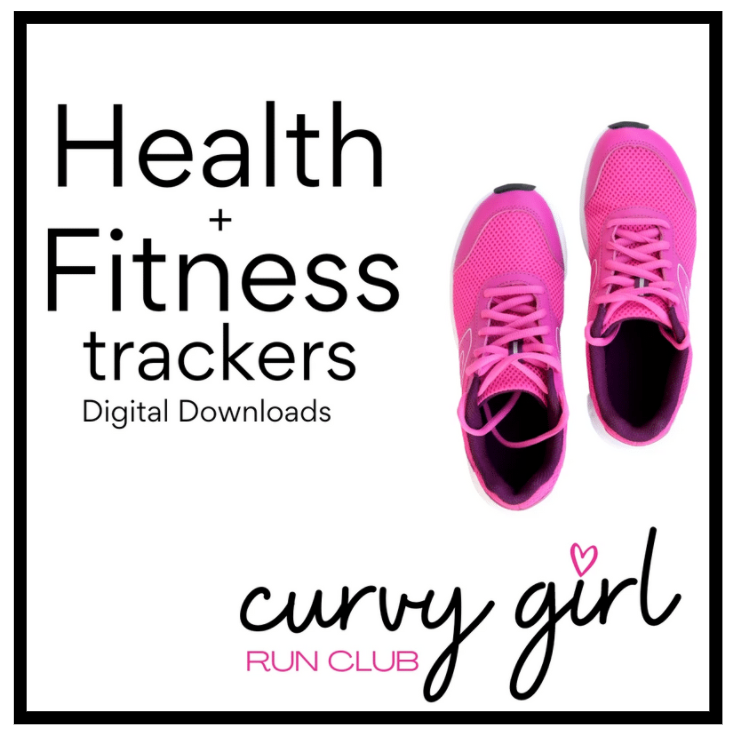Health + Fitness Tracker Digital Download