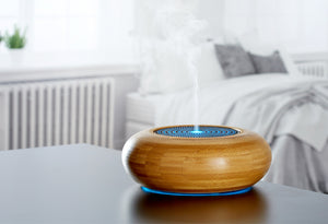ARRAN Ultrasonic Ioniser Diffuser, Natural bamboo(10% OFF)