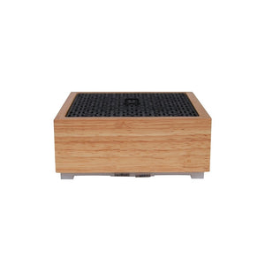 SPA Diffuser - Natural Wood opt 5 cystal stones or selenite for display