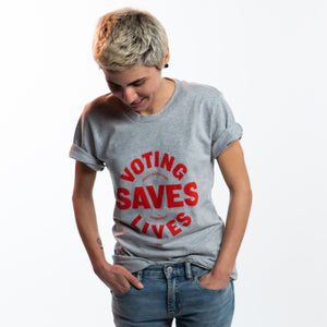 Voting Saves Lives Tee