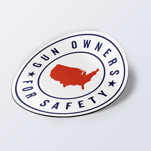 Gun Owners for Safety Car Magnet
