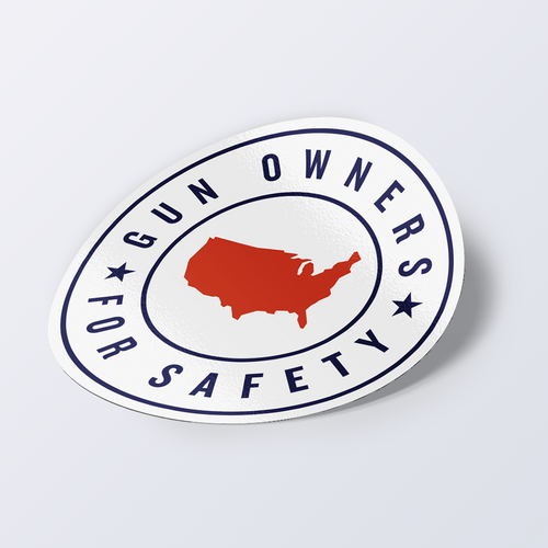 Gun Owners for Safety Sticker