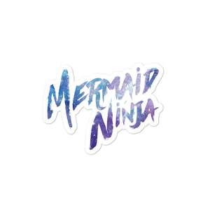 Mermaid Ninja Sticker