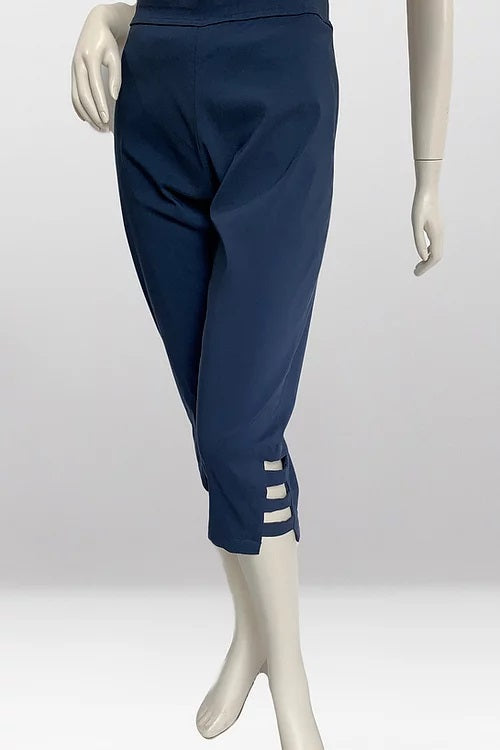 Sunshine Capri Pants - Navy