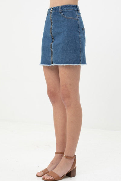 Unique Design Denim Skirt