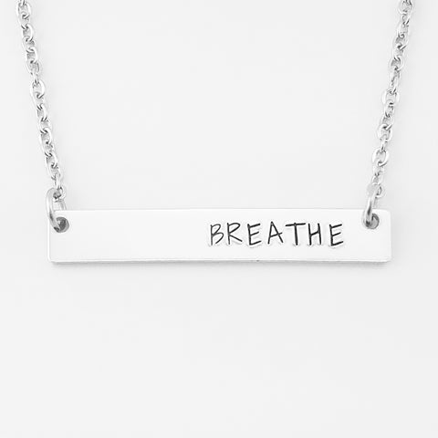 Breathe Bar Necklace