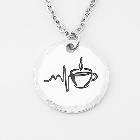 Runs on Coffee Necklace