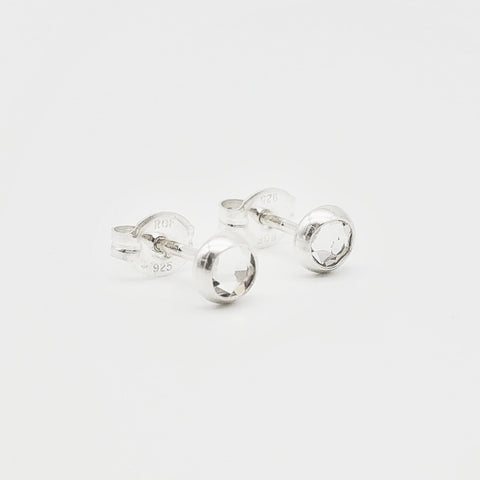 Swarovski Crystal Stud Earrings - 4mm