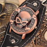 Unisex Skull Cover Watch