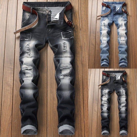 Men's Stretch Slim Fit Denim Jeans