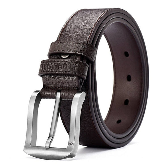 Men's Genuine Leather Strap Belt