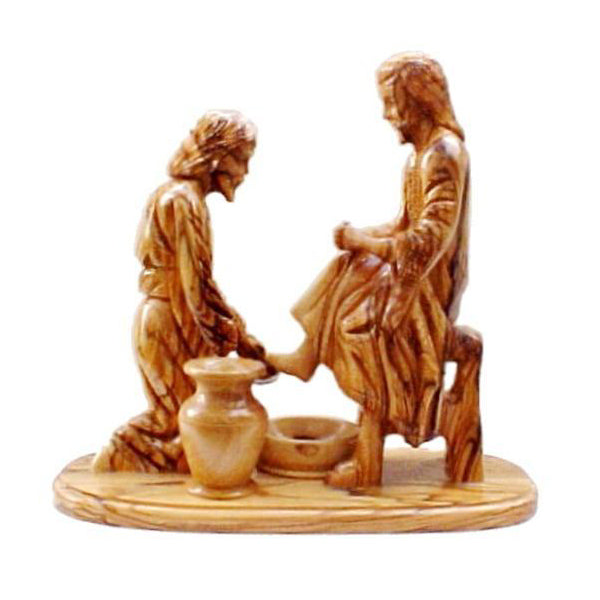 Jesus Washes Peter's Feet - 8.25""
