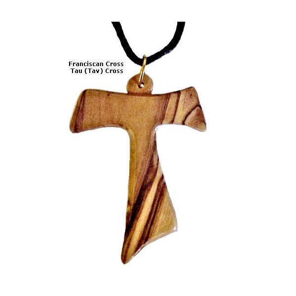 Large Tau - Franciscan Cross Necklace