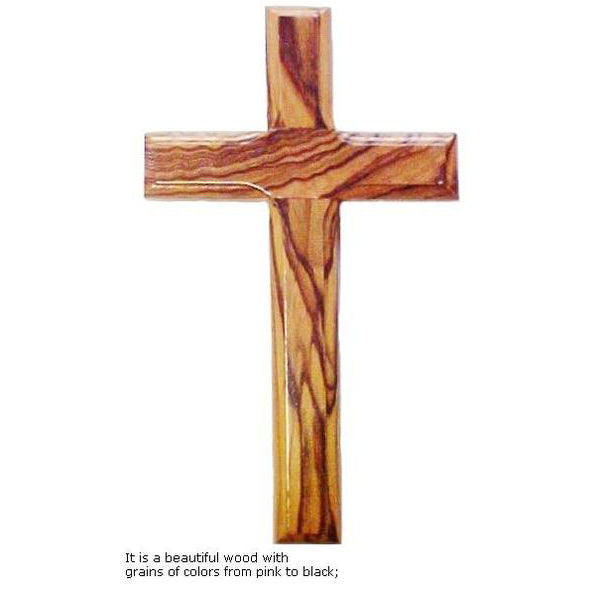 Olive Wood Cross - 9.8""