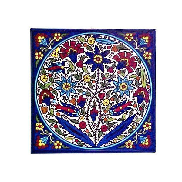 Floral Bliss - Armenian Tile