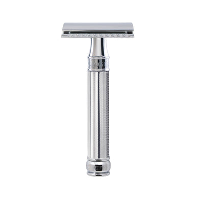 Edwin Jagger DE89 KN14BL Knurled Handle Safety Razor