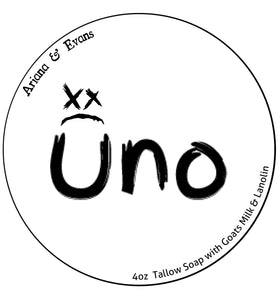 Uno Aftershave Splash....   A collaboration between A&E and Grey Matter Parfums
