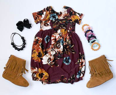 Wine Floral Loving Fall