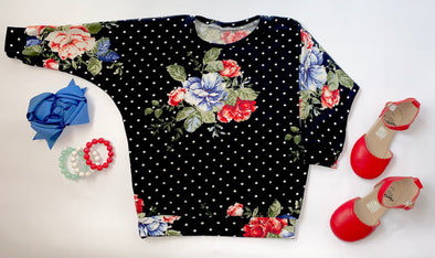 Floral Black Dot FIH