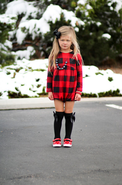 Red Buffalo Plaid Sizes 5-8 MKBC
