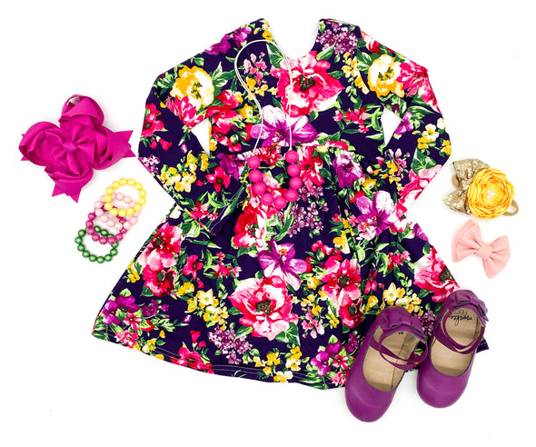 Navy Floral WW