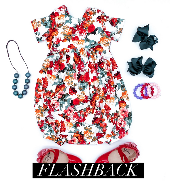 Rose Floral *FLASHBACK* Sizes 5-8 WW