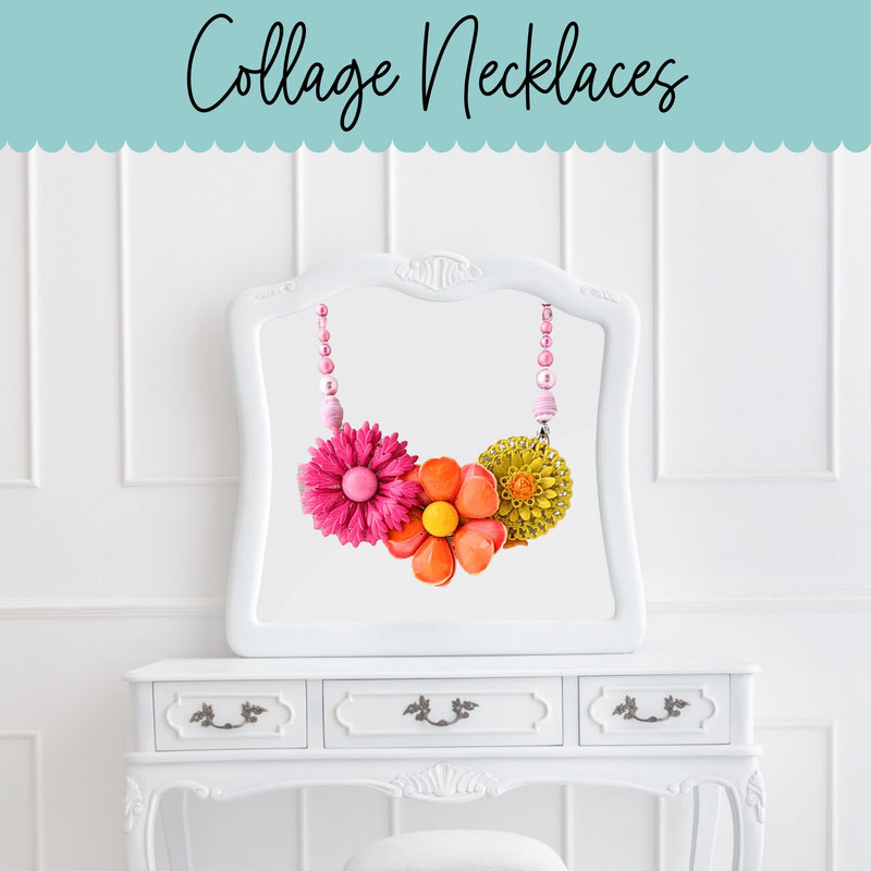 Collage Necklaces