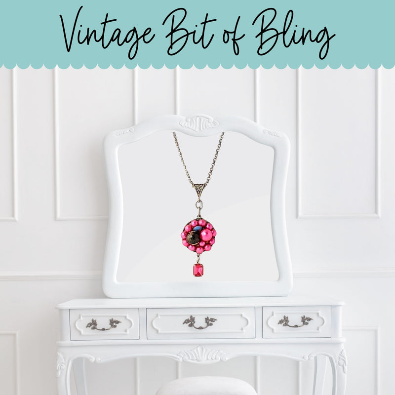 Vintage Bit of Bling Bauble Pendants