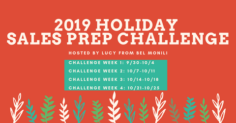2019 Holiday Sales Prep Challenge