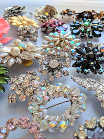 antique costume jewelry, bel monili vintage jewelry