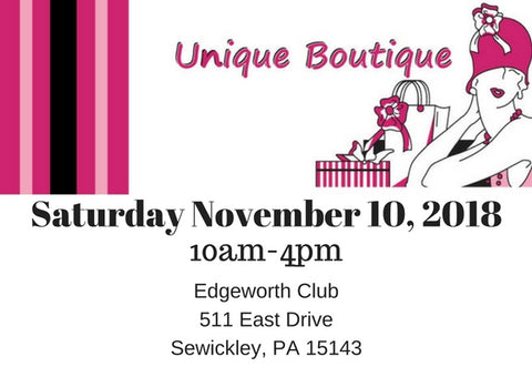 Unique Boutique, Sewickley Unique Boutique, Sewickley Fashion Show