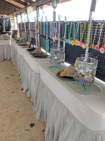 bel monili booth design, jewelry show booth design, custom craft show booth design