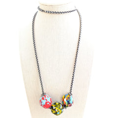 Recycled African Seed Bead Necklace
