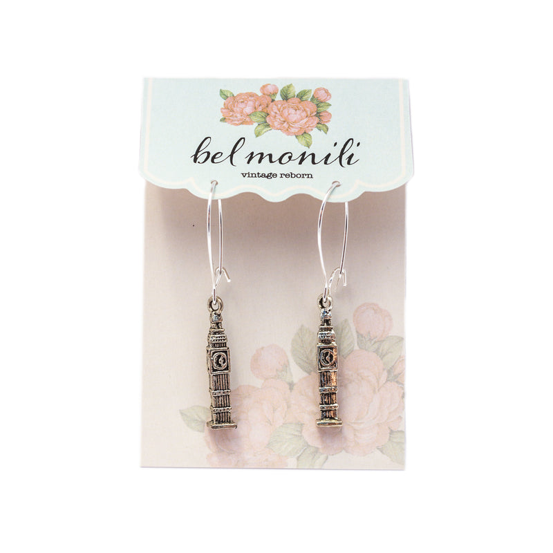Big Ben Earrings, English Earrings