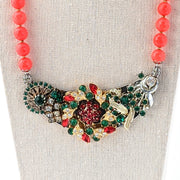Christmas Collage Necklace (CC10)