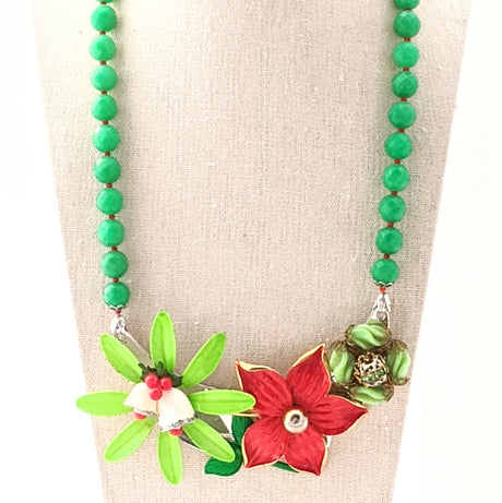 Christmas Collage Necklace (CC14)