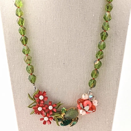 Christmas Collage Necklace (CC18)
