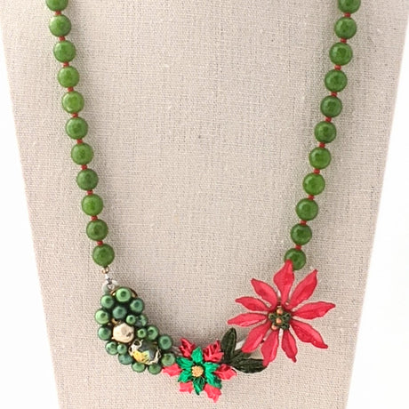 Christmas Collage Necklace (CC19)