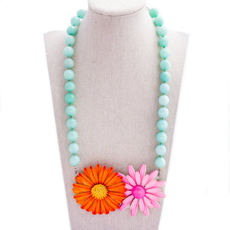 Summer Brights Collage Necklace