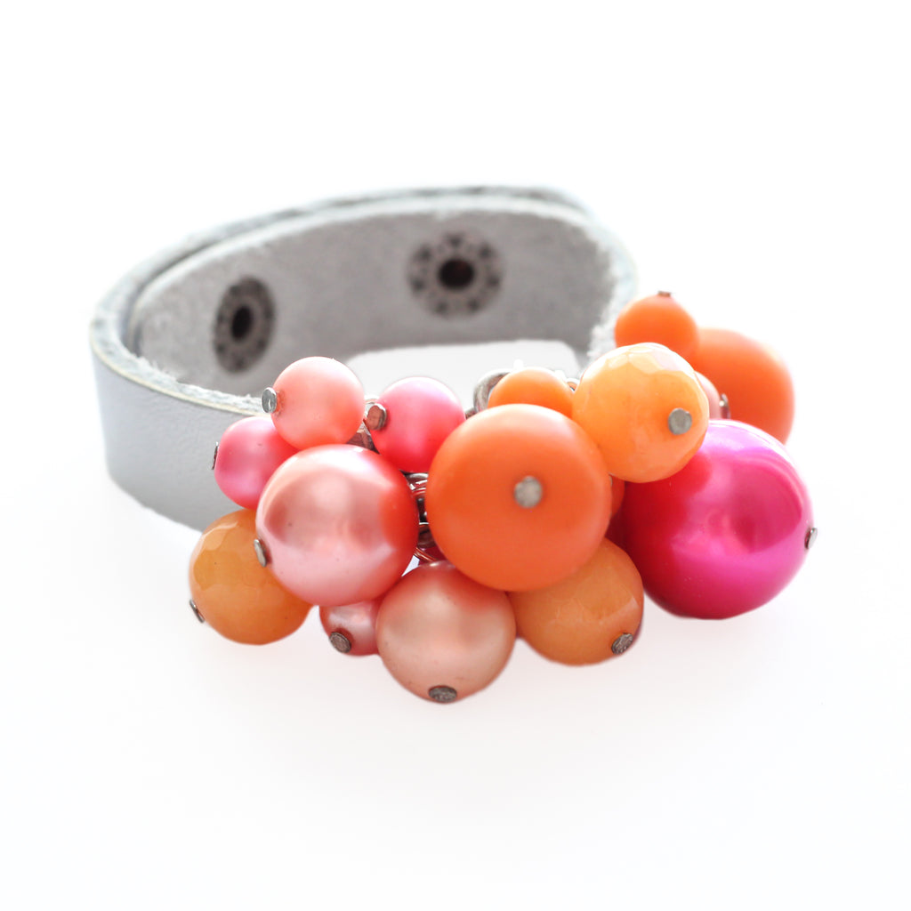 Bauble Leather Cuff 79