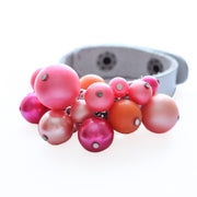 Bauble Leather Cuff 86
