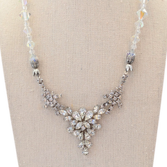 Girls' Night Out Vintage Rhinestone Necklace