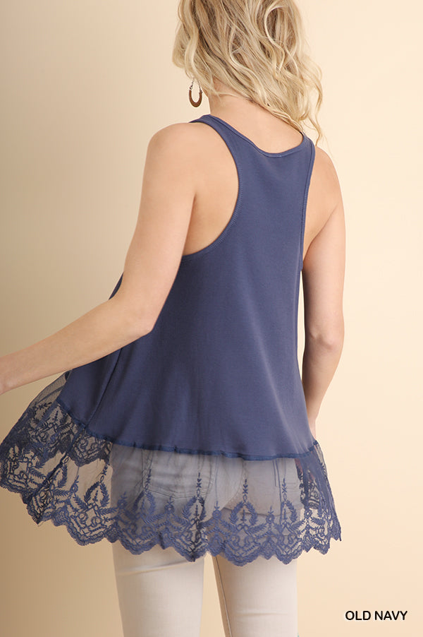 Lace Top Extender Sizes S-2X