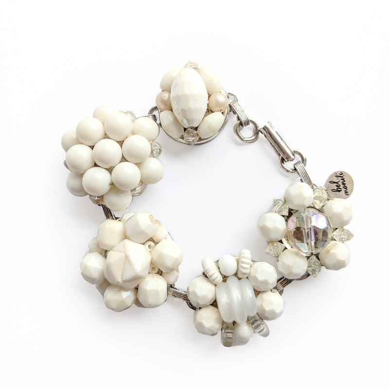 winter white bracelet